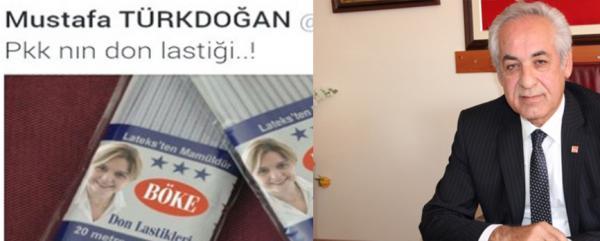 CHP'den Türkdoğan'a 'Don lastiği' tepkisi