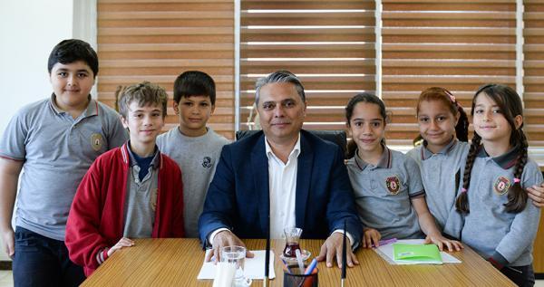 Çocuklar sordu Belediye Başkanı yanıtladı