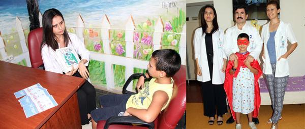 Çocukların ameliyat korkusu yeni projeyle yenildi