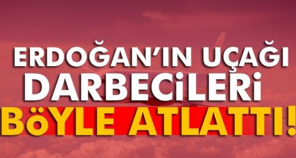 Erdoğan\\\'ın uçağı