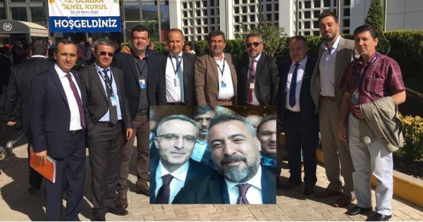Gökçeoğlu Maliye Bakanı ile görüştü