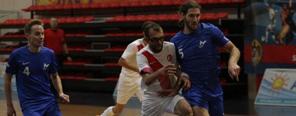 Görme engelliler Futsal şampiyonası başladı