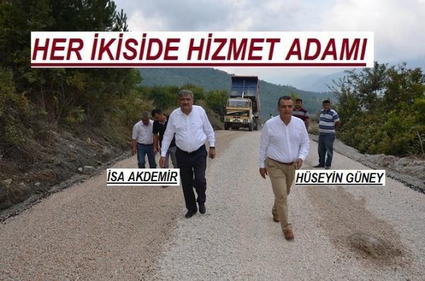 HİZMET ADAMLARI SAHADA