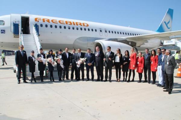 İlk İran uçağı Gazipaşaya indi