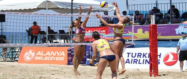 Kadınlar Plaj Voleybolu Avrupa Şampiyonası başladı