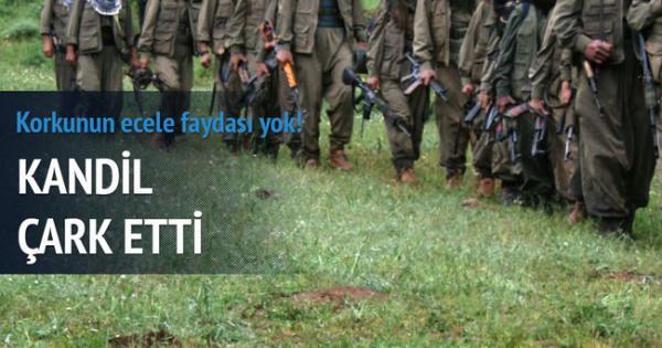 KANDİL ÇARK ETTİ