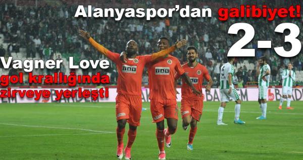Konyaspor - Alanyaspor maç sonucu