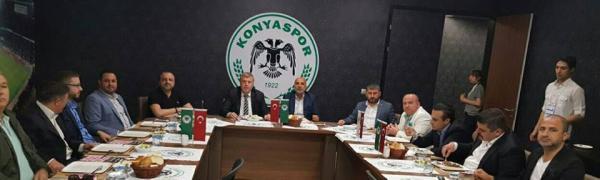 Konyaspor'dan Alanyaspor'a dostluk mesajı