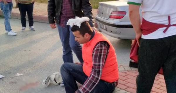 Manavgat'ta trafik kazası: 1 kişi yaralı