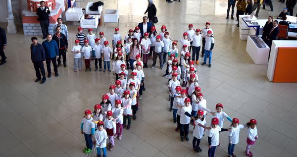 Minik öğrencilerin 'Pi Günü' etkinlikleri