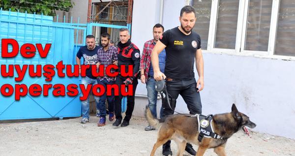 Narko-sokak operasyonu: 40 eve baskın