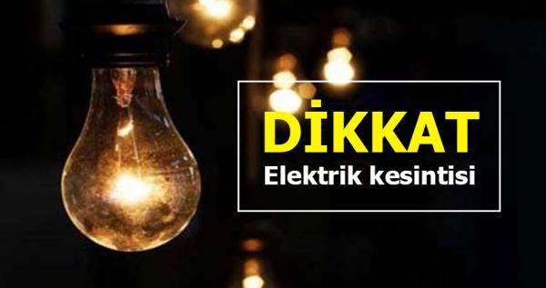 O gün Alanya'da elektrikler kesilecek