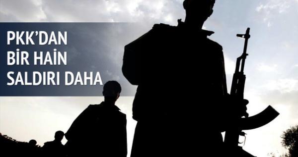 PKK DAN HAİN SALDIRI