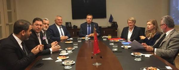 Şahin'den Litvanya ile Alanya temasları