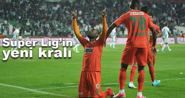 Süper Lig'de yeni kral Vagner Love