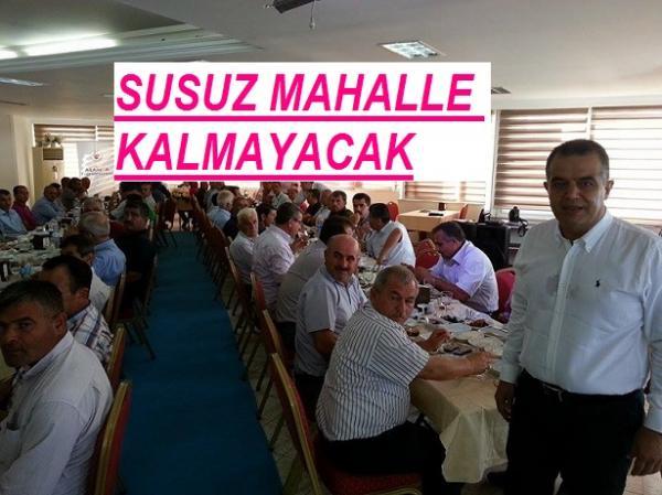 SUSUZ MAHALLE KALMAYACAK