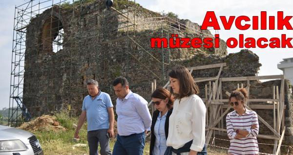 Tarihi Sedre Köşkü'nde çalışmalar başladı