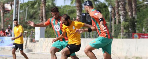 TFF Plaj Futbol Ligi başladı