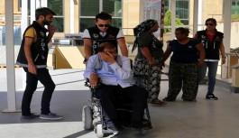 Akülü engelli aracda 13 kilogram esrar çıktı