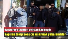 Uyuşturucu tacirlerine kıskıvrak: 8 gözaltı