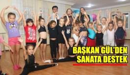 Başkan Gül'den sanata destek