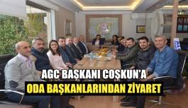 AGC Başkanı Coşkun'a Oda Başkanlarından Ziyaret