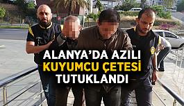 Alanya'da azılı kuyumcu çetesi tutuklandı