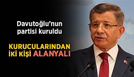 Davutoğlu'nun Partisi resmen kuruldu