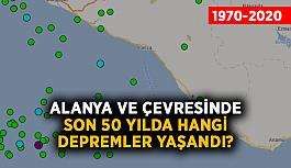 Alanya ve çevresinde son 50 yılda hangi depremler yaşandı? (2020 Güncel)
