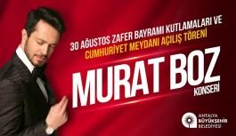 Murat Boz Cumhuriyet Meydanı'nda