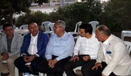 Bakan Çavuşoğlu, Alanya'da taziyeye katıldı