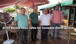 Şahin'den seçim çalışması son gaz devam ediyor