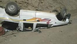 Korkunç kazada mucize kurtuluş