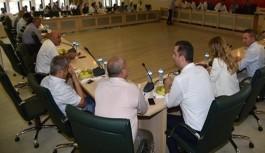 Mecliste yeni belediye konuşuldu
