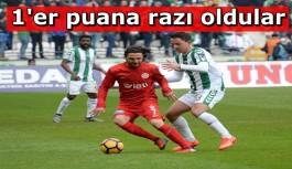 Atiker Konyaspor 1 Antalyaspor 1