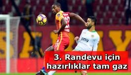 Galatasaray ile Aytemiz Alanyaspor 3. randevuda