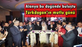 MHP'li Türkdoğan dünya evine girdi