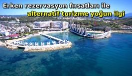 Alanya'daki alternatif turizme yoğun ilgi