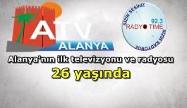 Alanya'nın ilk TV'si 26 yaşında