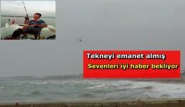 Denizde kaybolan vatandaşı arama çalışmaları sürüyor