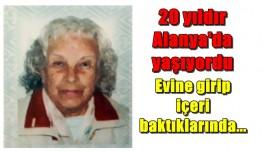 Alanya'da Norveçli kadın evinde ölü bulundu