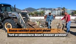 ALTİD Alanya sahillerini temizliyor