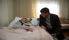Başkan Türel'den eski başkana ziyaret