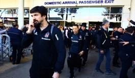 Beşiktaş Antalya'ya 3 eksikle geldi