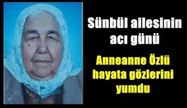 MHP'li Sünbül'ün acı günü