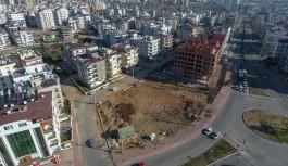 Muratpaşa'dan Kızılarık'ta yeni park çalışması