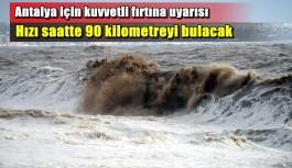 Yarın Antalya'ya gidecekler için çok önemli uyarı