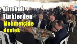 Ahıskalı Türklerden Mehmetçiğe destek