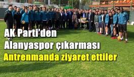 AK Parti'den Alanyaspor çıkarması