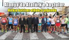 Alanya'da 49 yaşındaki sporcu maratonda 1'inci oldu